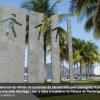 Monumento em memória das vítimas do trânsito