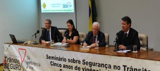 Seminário comemora os cinco anos da Lei Seca em Brasília