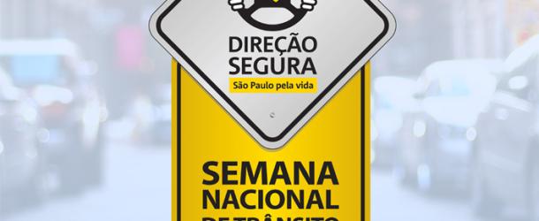 Semana Nacional de Trânsito 2013