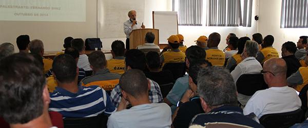 Palestra para os Agentes de Trânsito da Cidade de Campinas