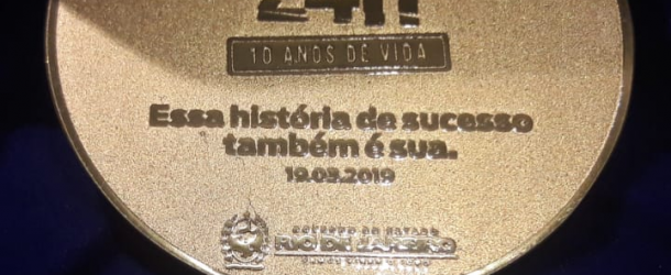 Cerimônia de 10 anos da Operação Lei Seca